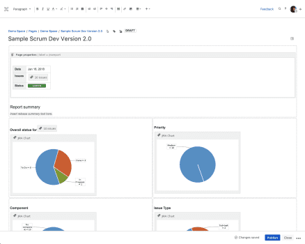 Ship It: Release Management in Jira and Confluence, Progress Report