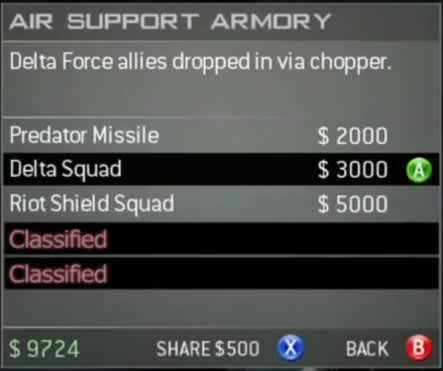 Air support armory