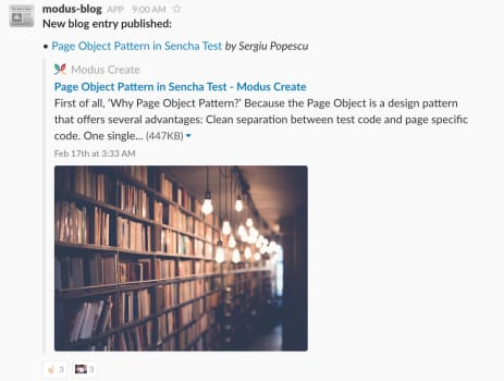 Promoting Blog Entries with AWS Lambda and Slack