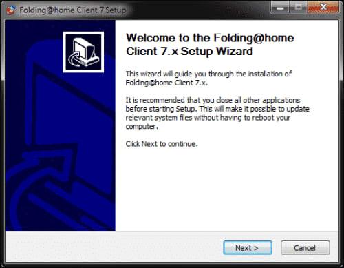 Folding@Home Client