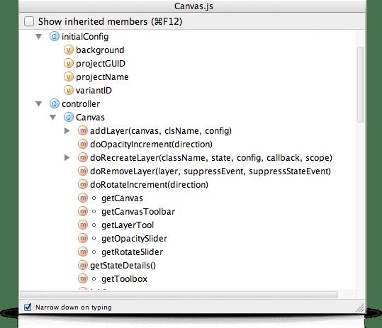 IntelliJ IDEA Keyboard Shortcut: Find members