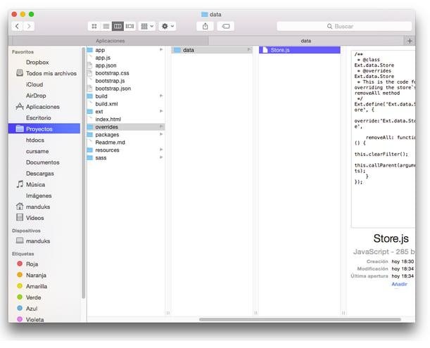 Store.js class file