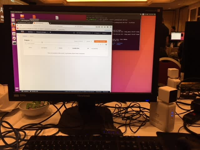 Intro to Amazon DeepLens -- setup and ready to rock at AWS re:Invent