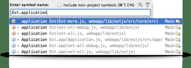 IntelliJ IDEA Keyboard Shortcut: Find members in a project