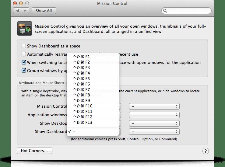 IntelliJ IDEA Keyboard Shortcut: Disable F12 in Mission Control