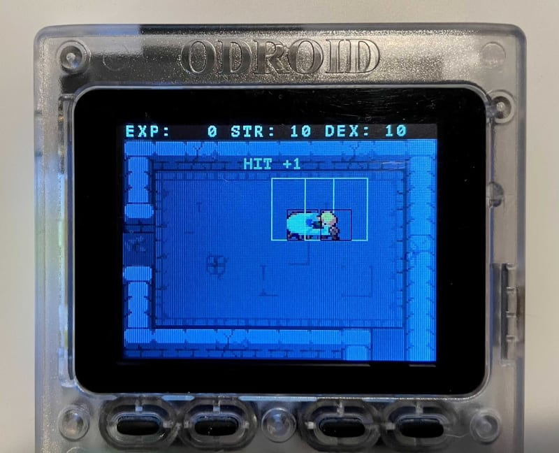 Modite Adventure on ODROID GO
