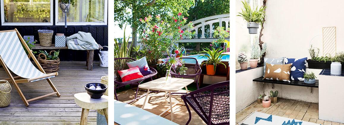 Möbel für kleine Balkone