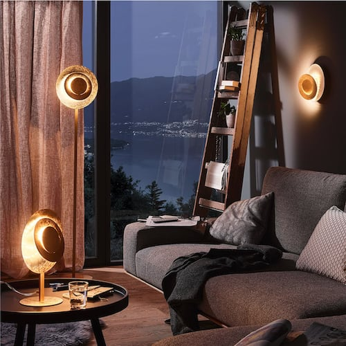 Gemütliche Wohnzimmerbeleuchtung