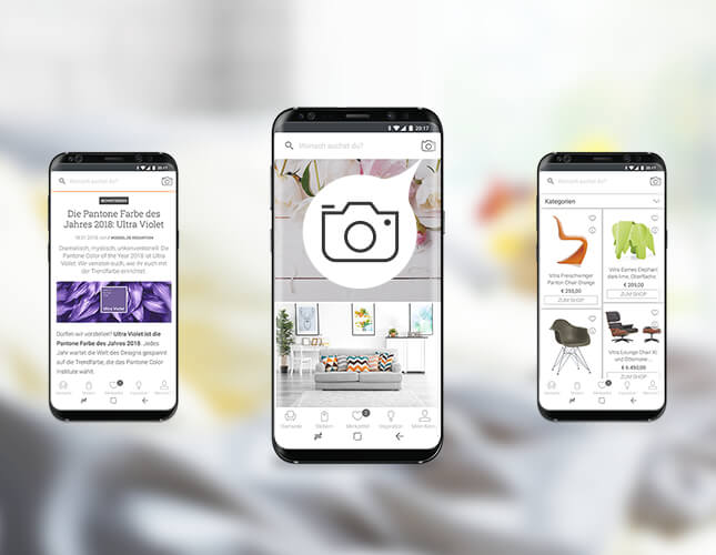 Unterwegs Shoppen bei moebel.de - deine moebel.de Shopping Apps!