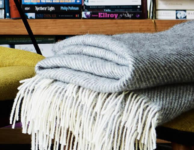 Die perfekte Wolldecke