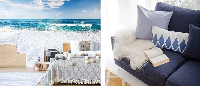 Mediterrane Möbel und Dekoration