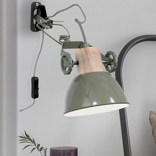 Verstellbare Wandlampe