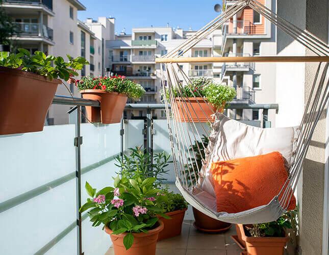 Der perfekte Sichtschutz für den Balkon