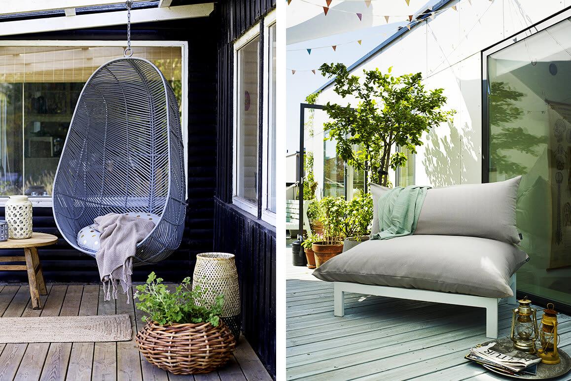 Praktische Balkonmöbel