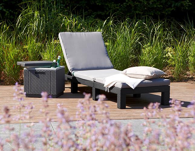 Gemütlich Relaxen im Outdoor-Bereich