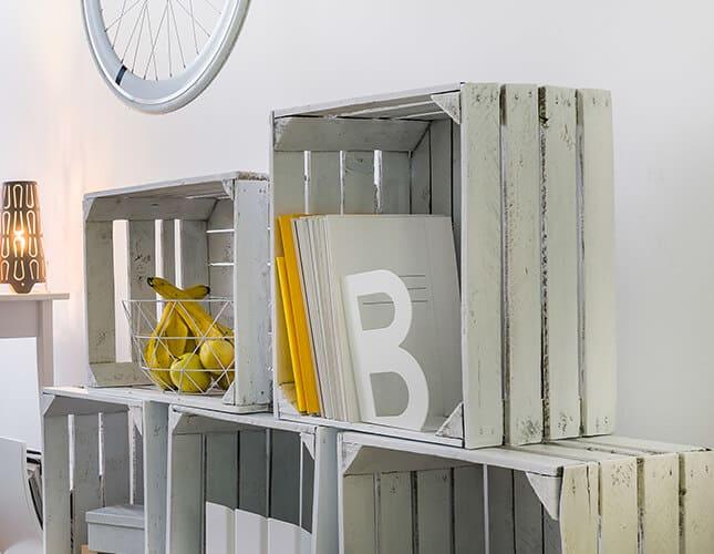 Trend Bauholz: Ideen für Wände und Möbel