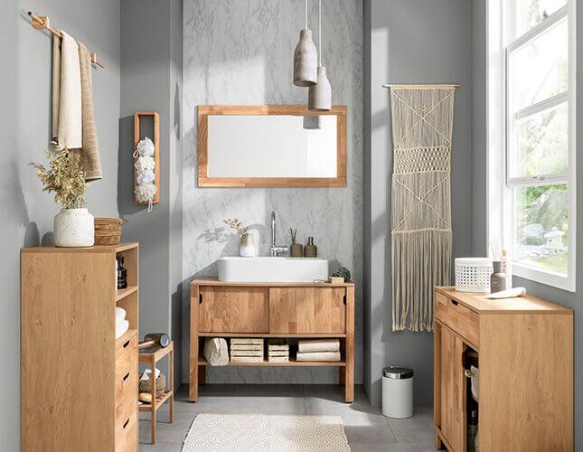 Waschtischmöbel für mehr Stauraum im Bad