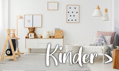 Weißes modernes Kinderzimmer