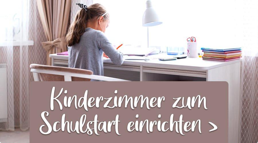 Kinderzimmer zum Schulstart