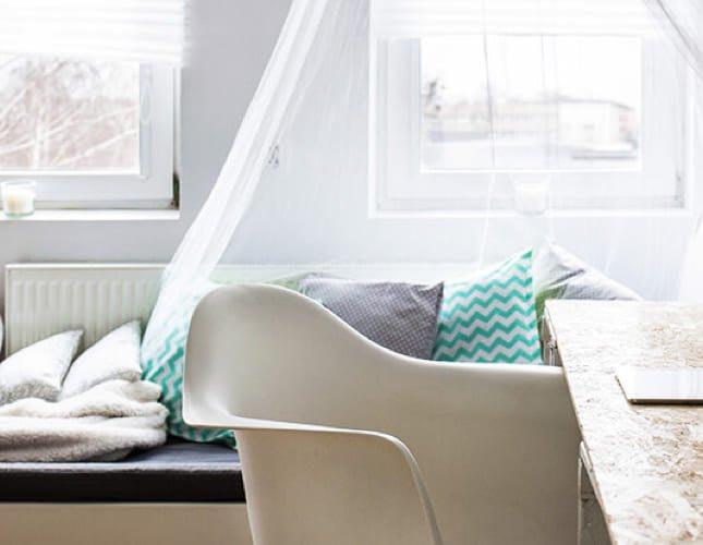 Wie man ein kleines Gästezimmer richtig einrichtet