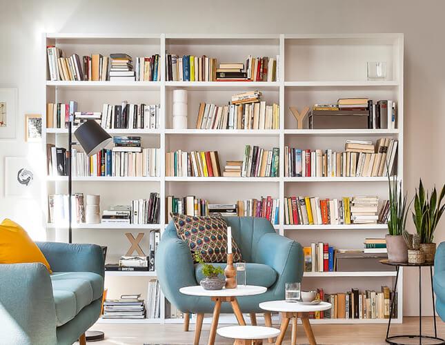 Bücherregal dekorieren - die coolsten Ideen