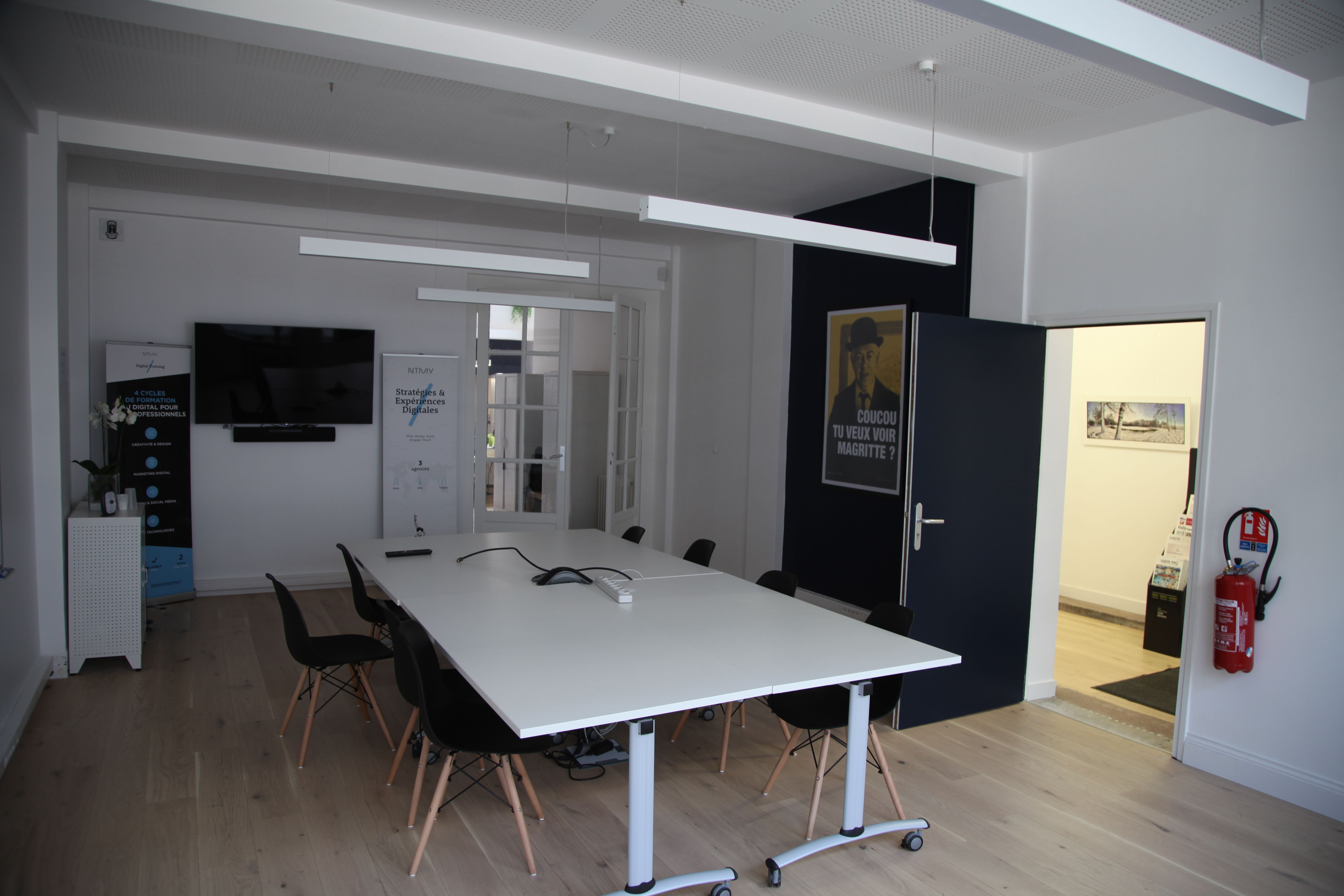 salle de réunion pour 10 personnes à LILLE