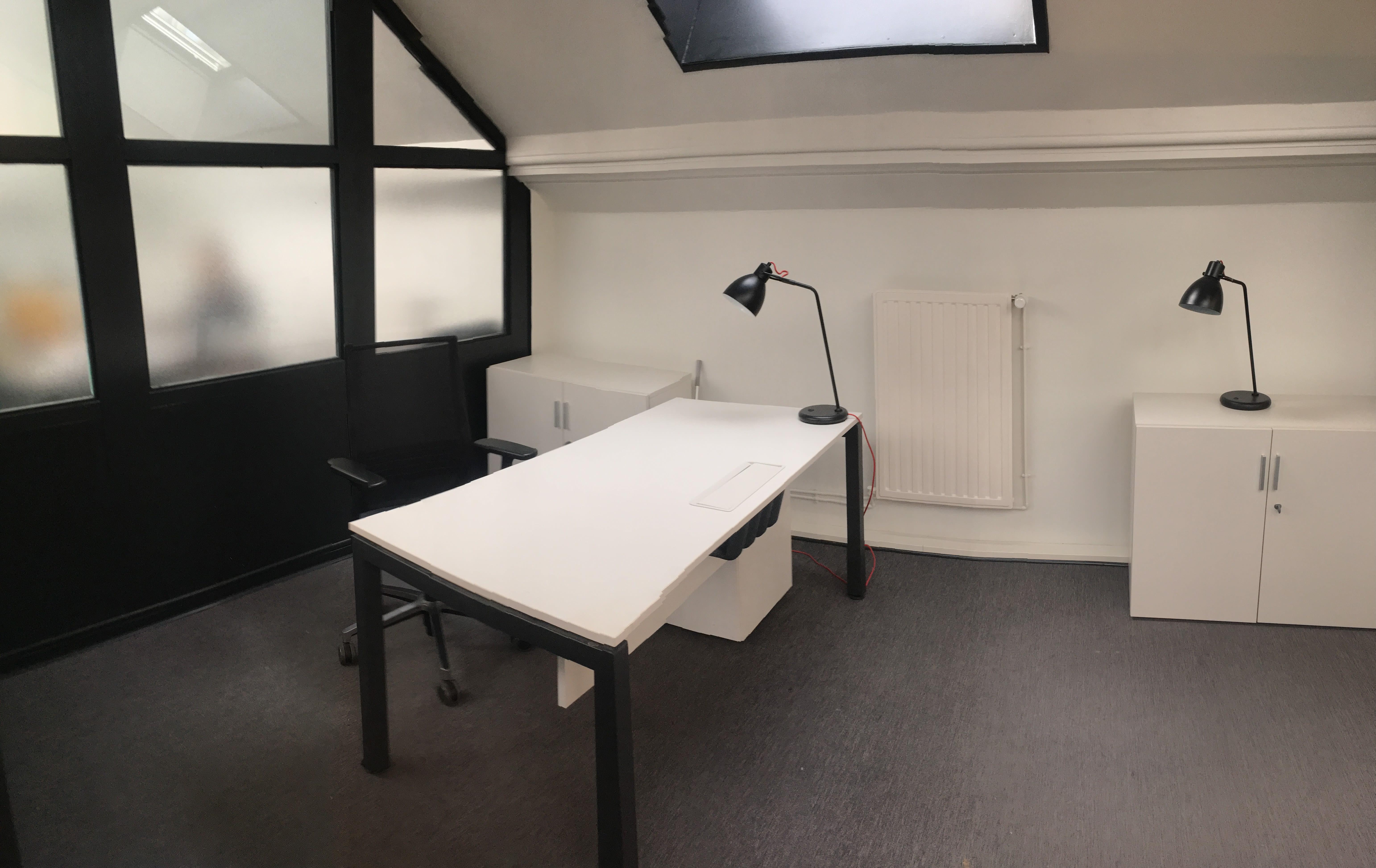 bureau privatif de 1 personne à Roubaix