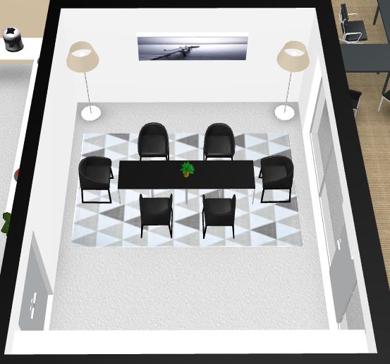 salle de réunion pour 8 personnes à Rillieux-la-Pape