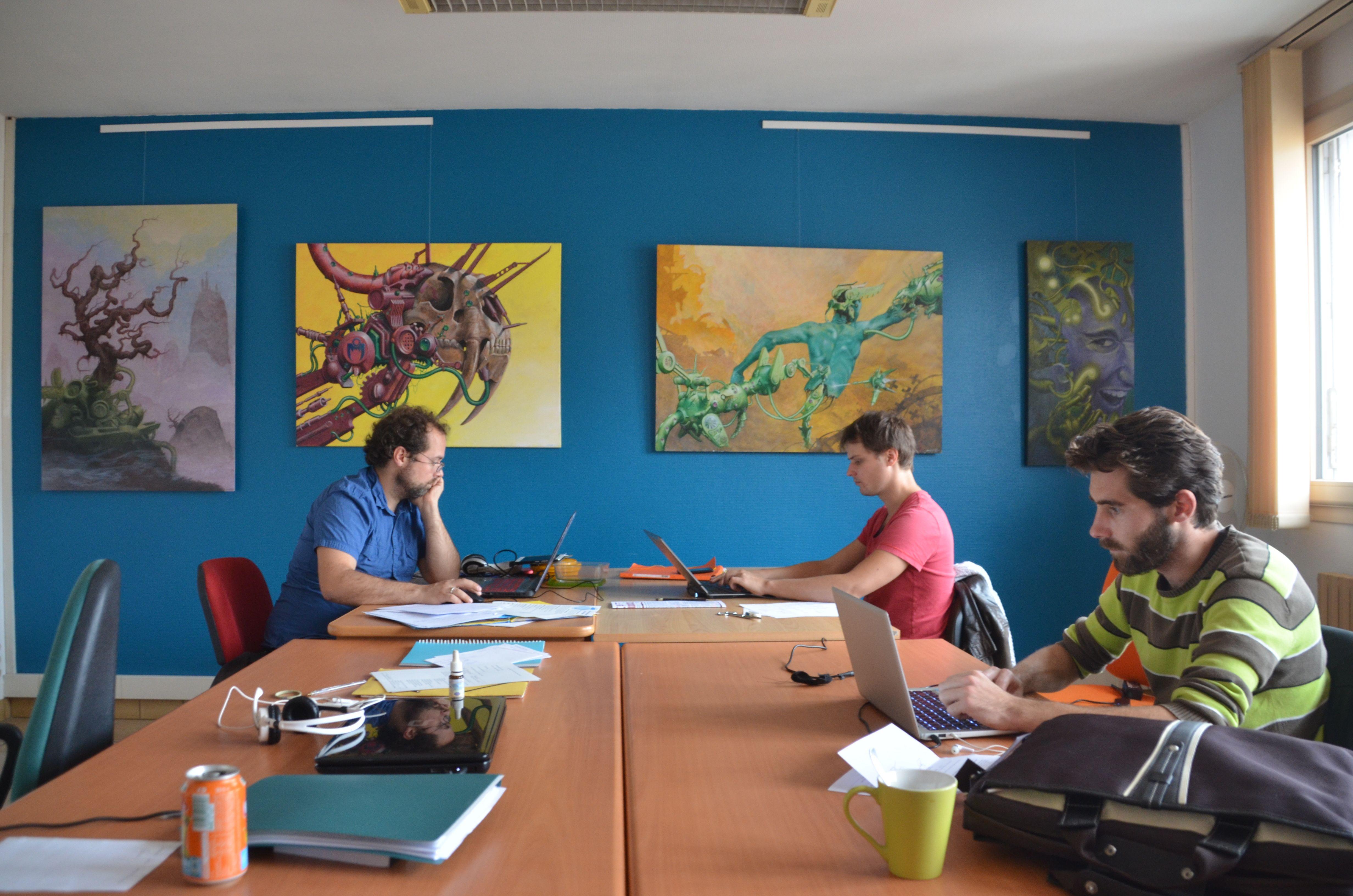 espace partagé d'une capacité de 8 personnes à Limoux