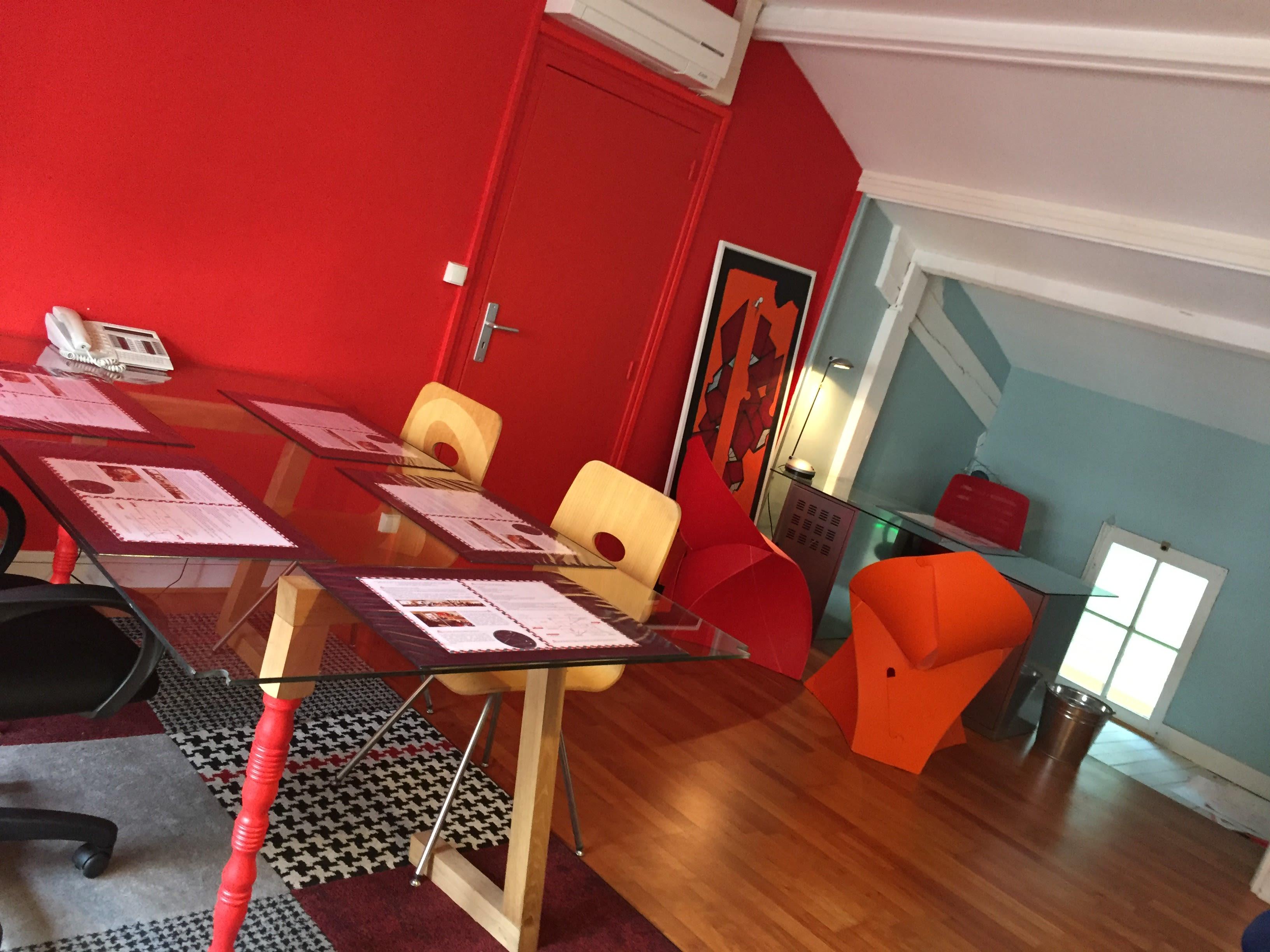 salle de réunion pour 6 personnes à Limoges