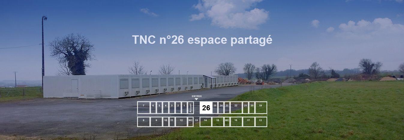 espace partagé d'une capacité de 20 personnes à Courcôme