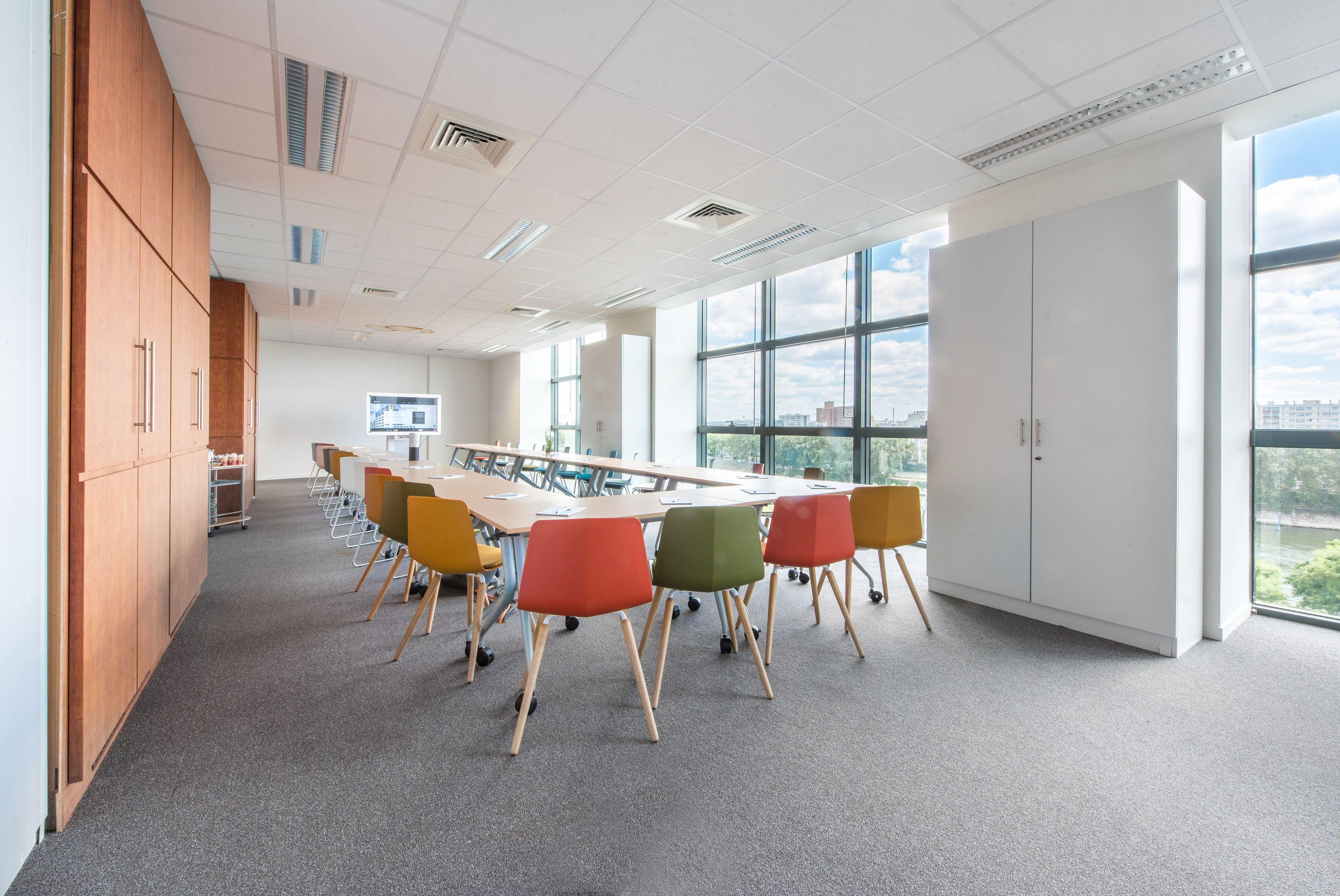 salle de réunion pour 120 personnes à Asnières-sur-Seine