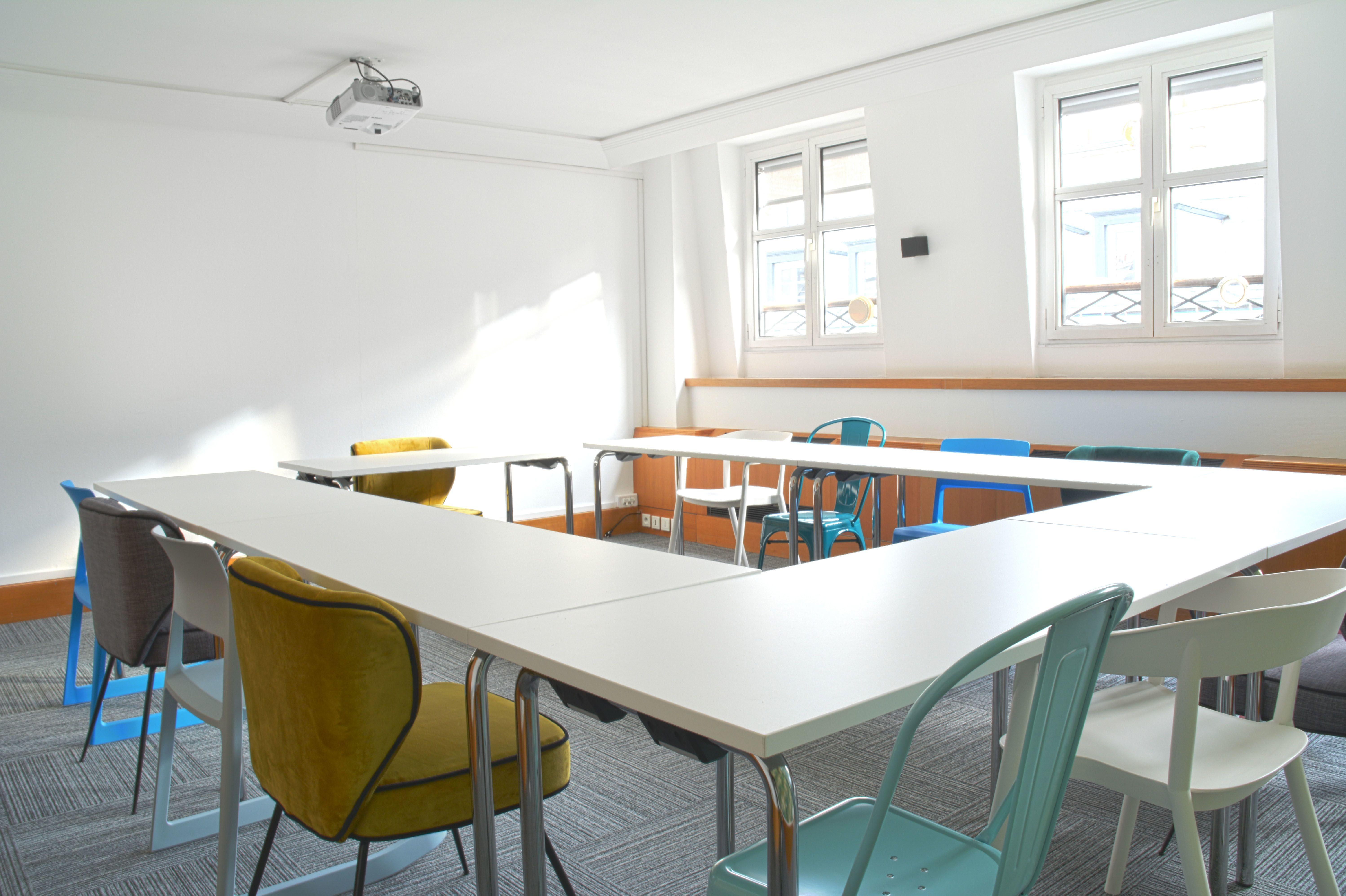 salle de réunion pour 25 personnes à Paris