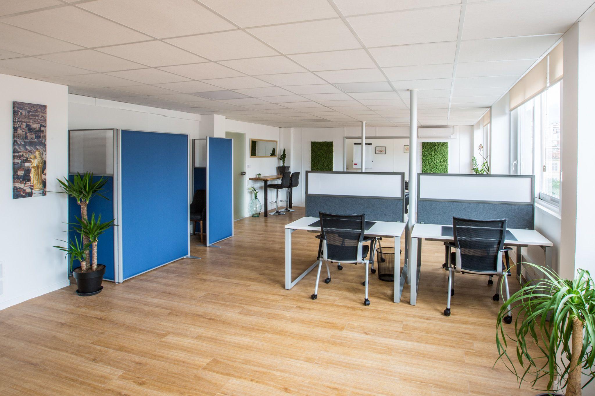 espace partagé d'une capacité de 2 personnes à Marseille