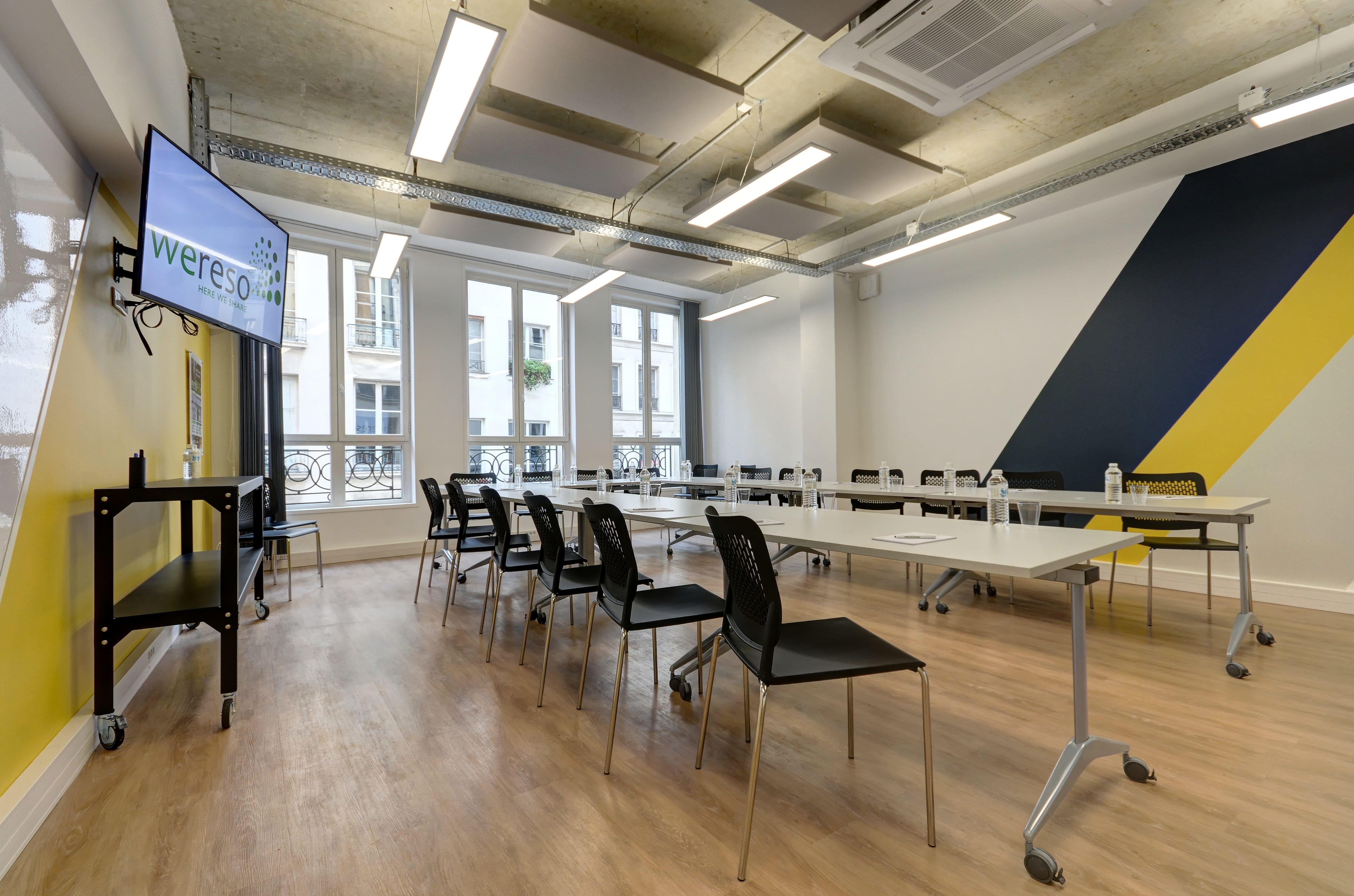 salle de réunion pour 60 personnes à Paris