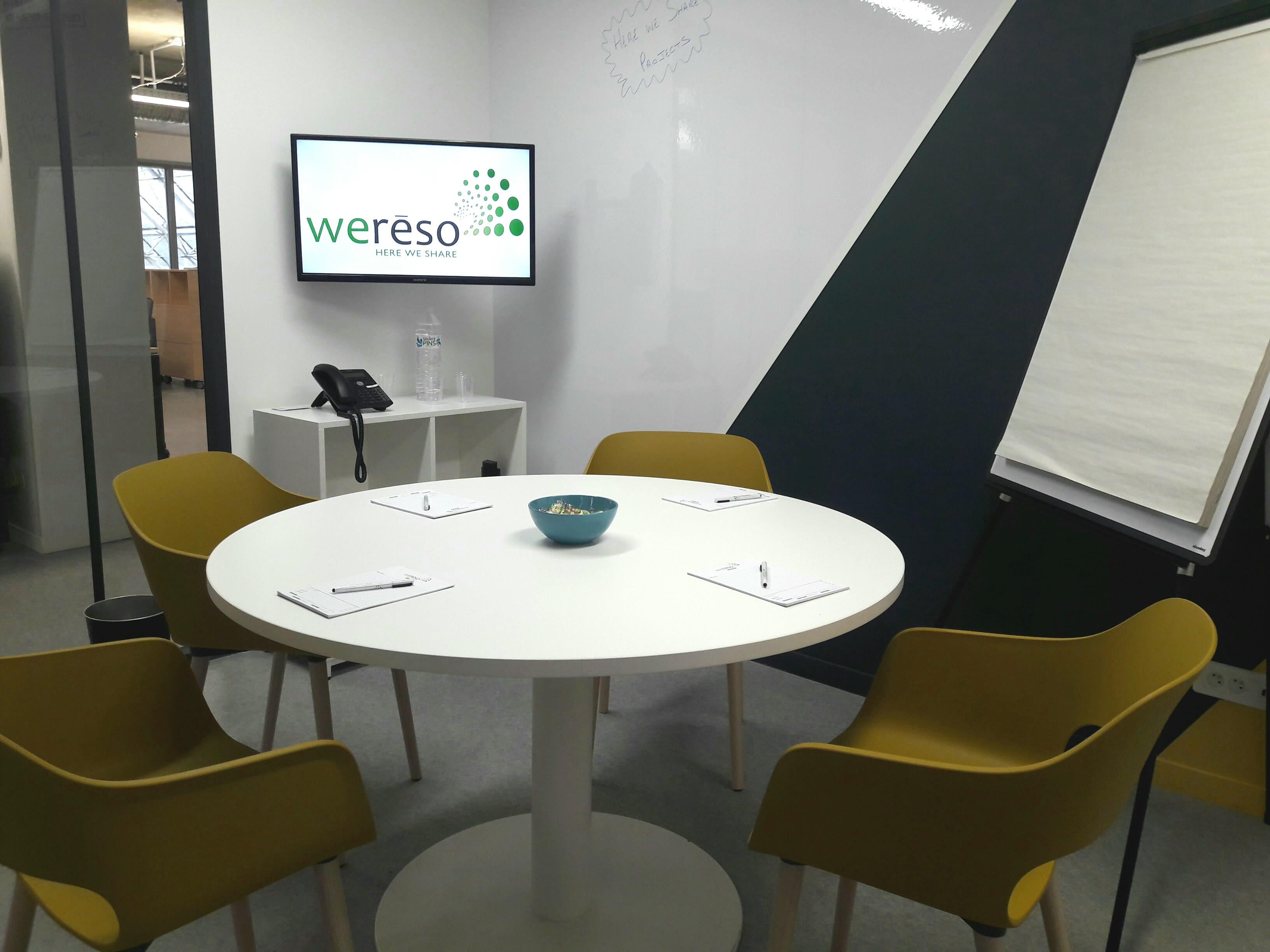 salle de réunion pour 5 personnes à Paris