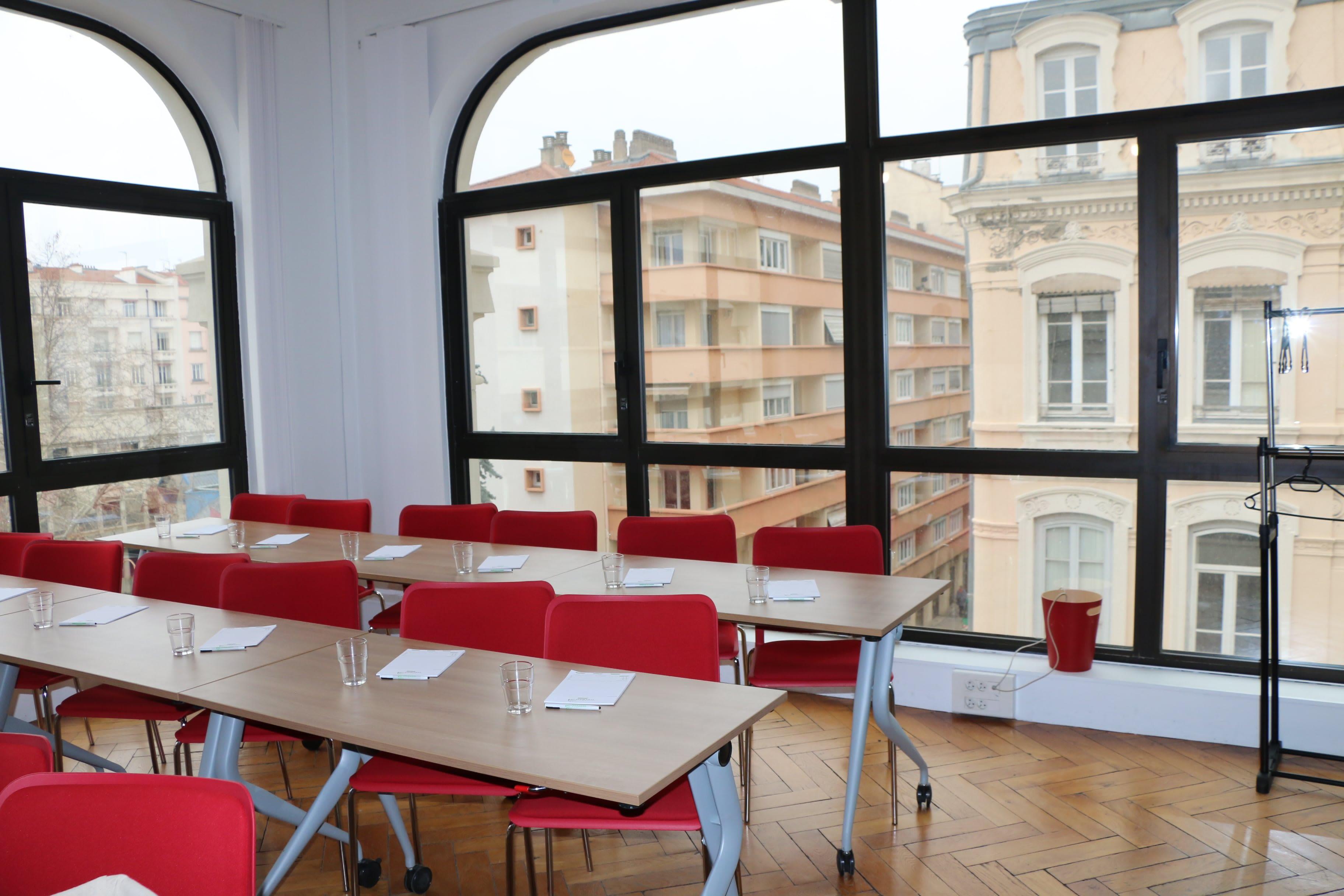 salle de réunion pour 25 personnes à Lyon