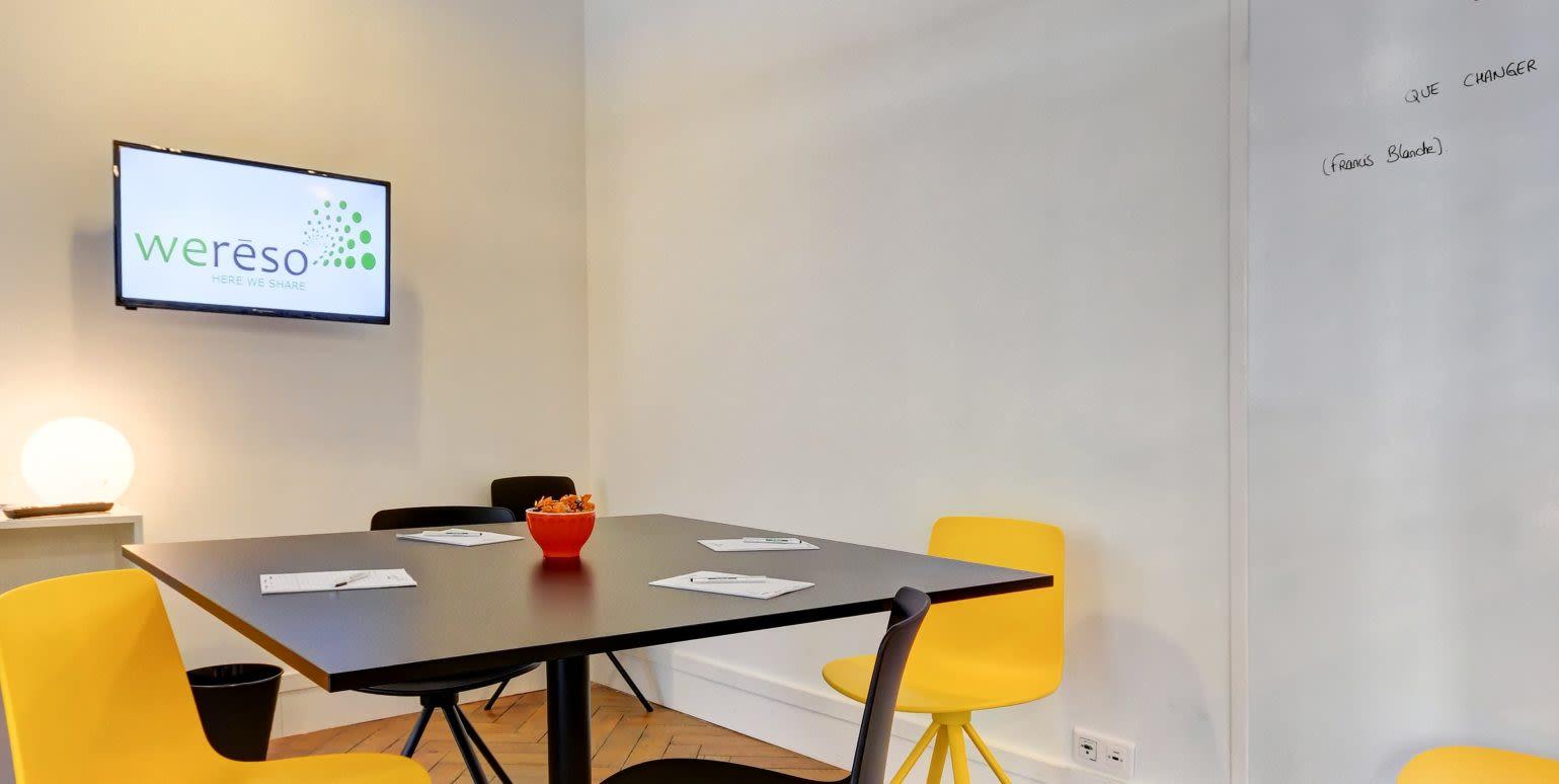 salle de réunion pour 5 personnes à Lyon