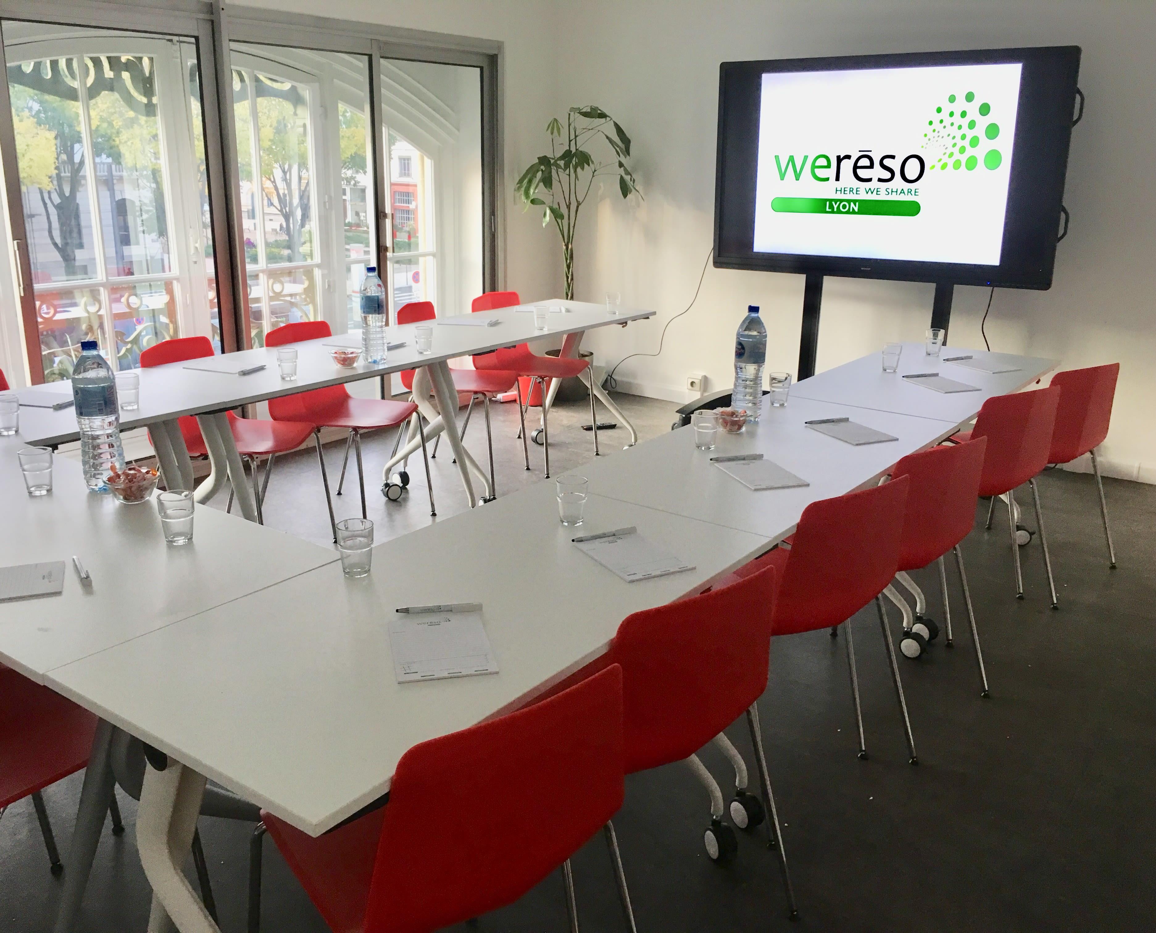 salle de réunion pour 15 personnes à Lyon