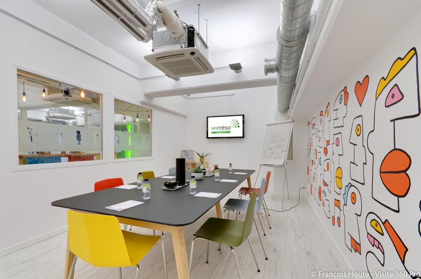 salle de réunion pour 15 personnes à Marseille