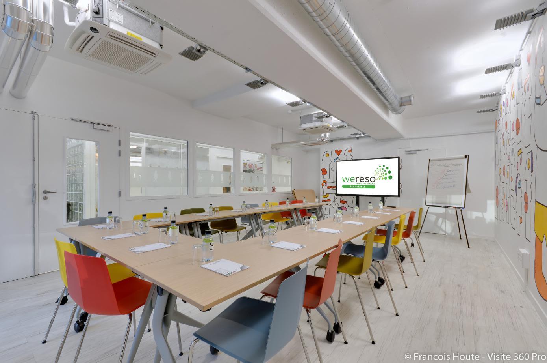 salle de réunion pour 50 personnes à Marseille