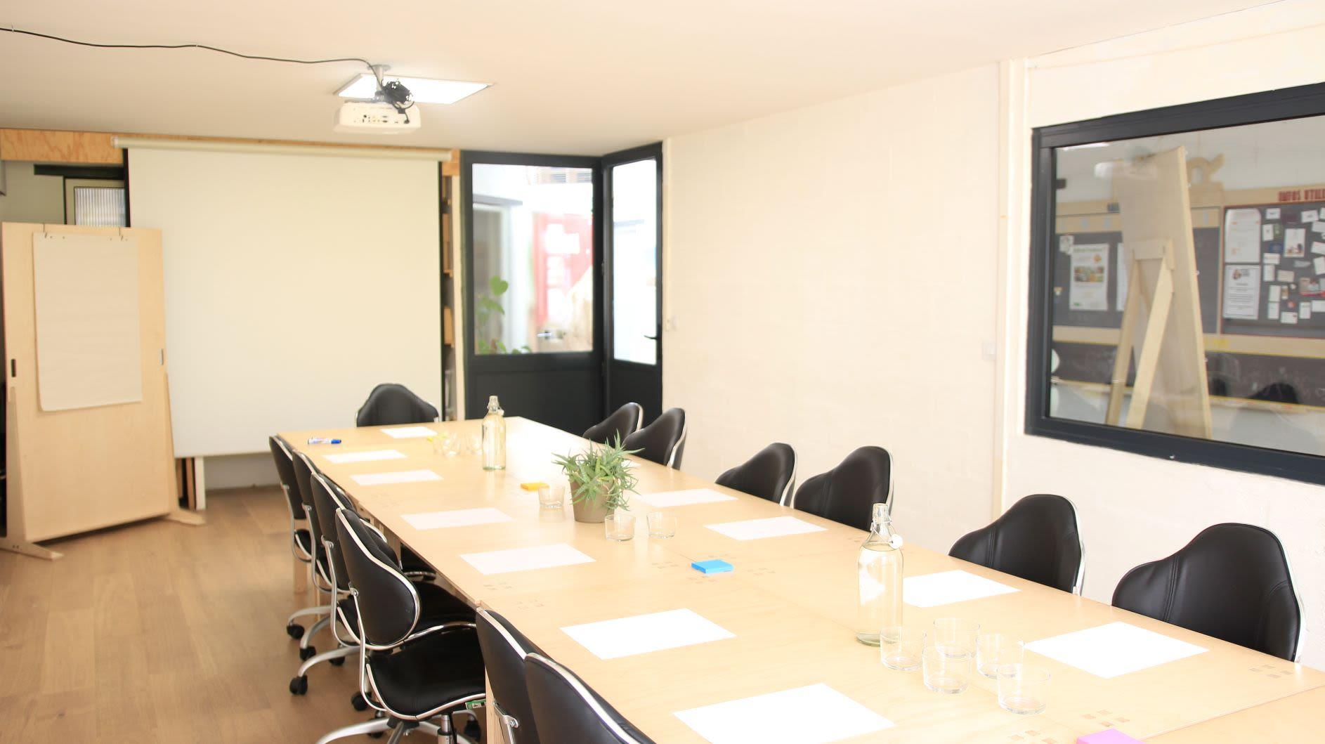 salle de réunion pour 30 personnes à Paris