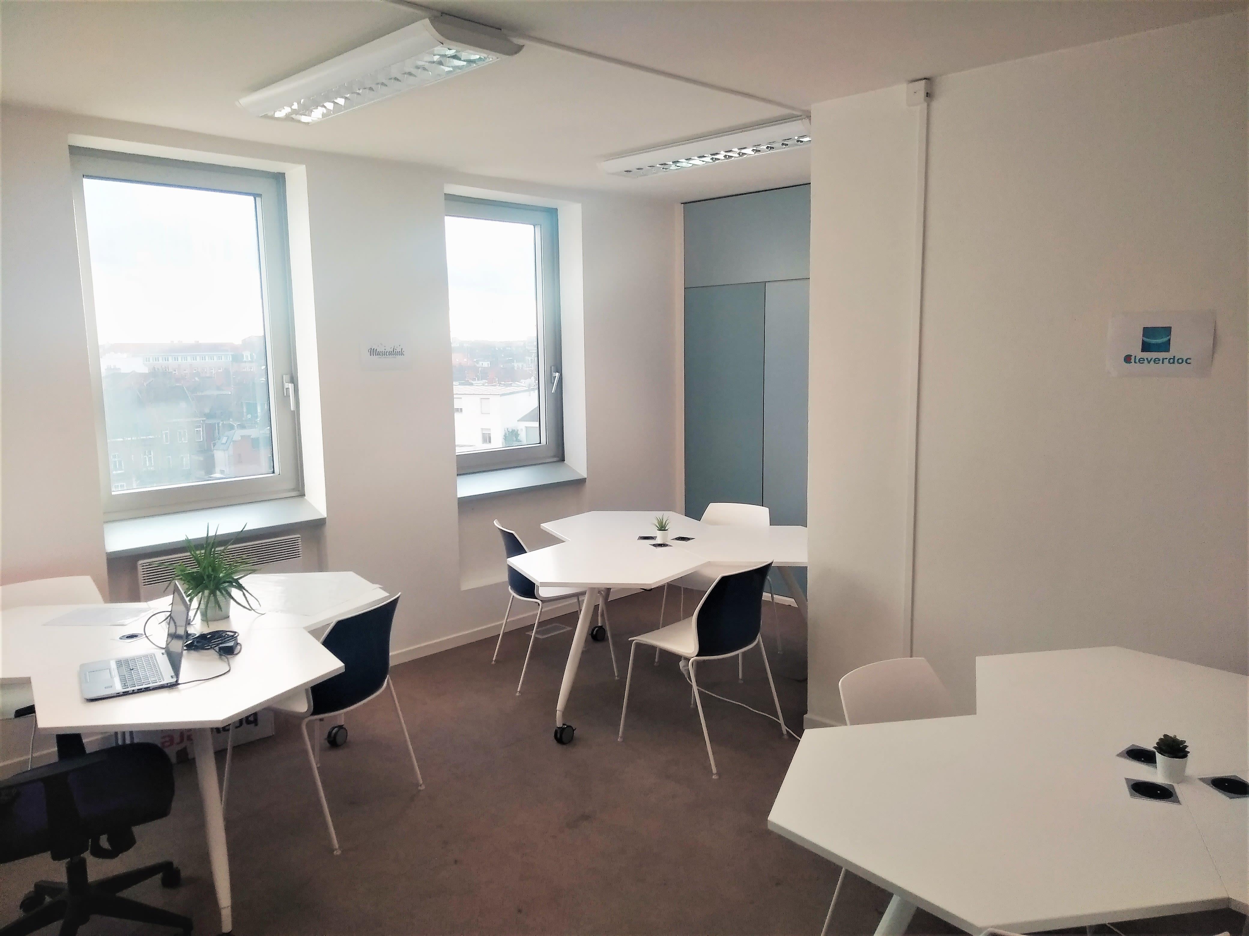 espace partagé d'une capacité de 6 personnes à Lille