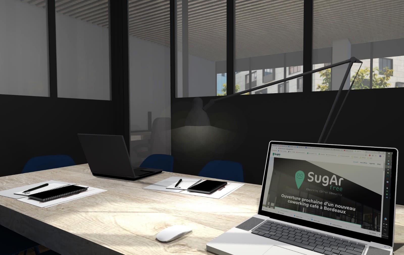 salle de réunion pour 8 personnes à Bordeaux