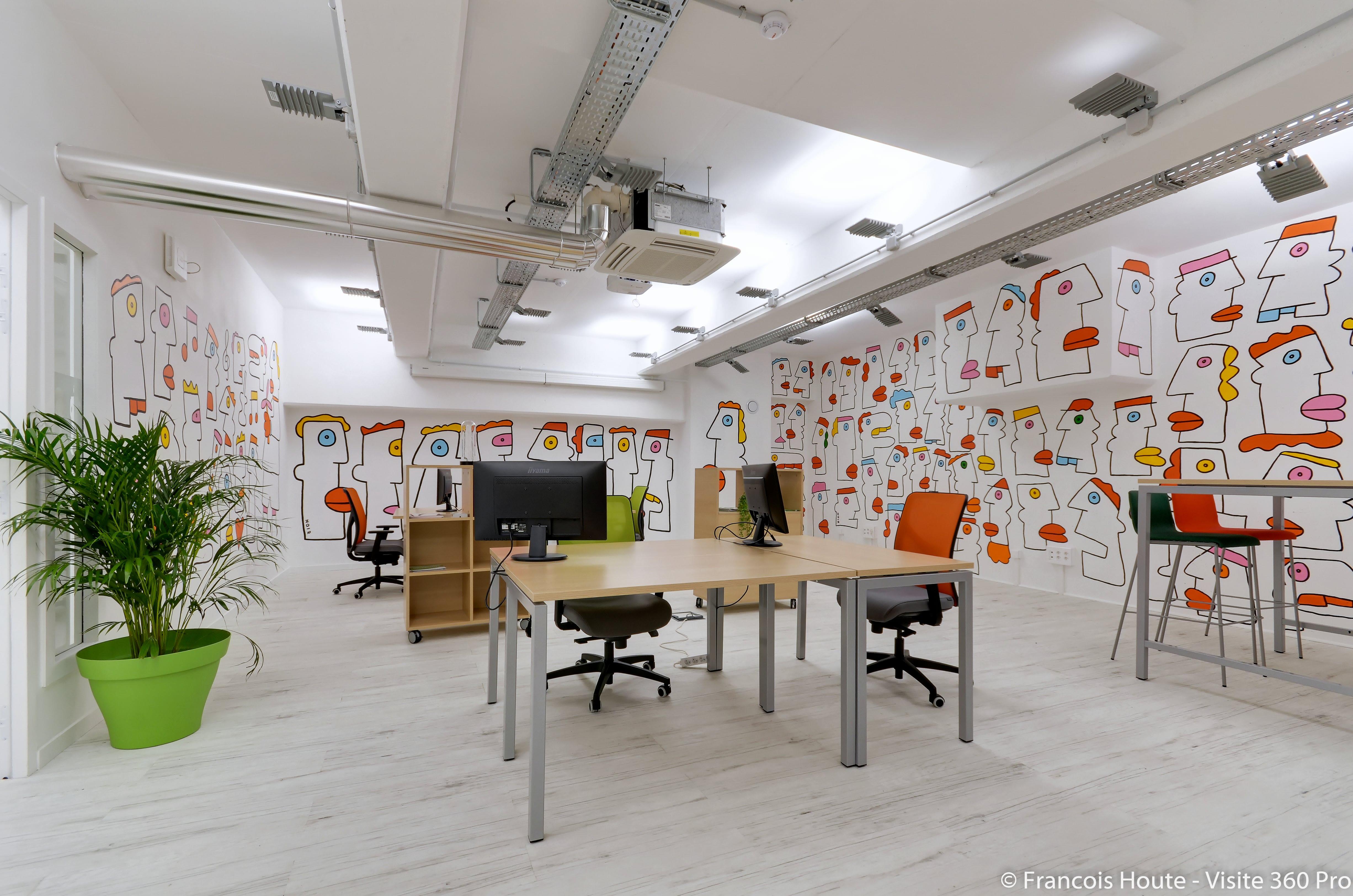 espace partagé d'une capacité de 30 personnes à Marseille
