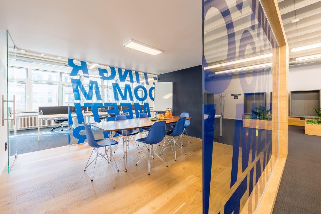 salle de réunion pour 8 personnes à Bruxelles