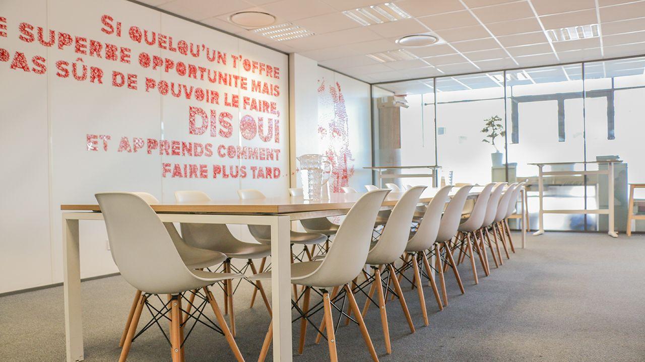salle de réunion pour 50 personnes à Lyon