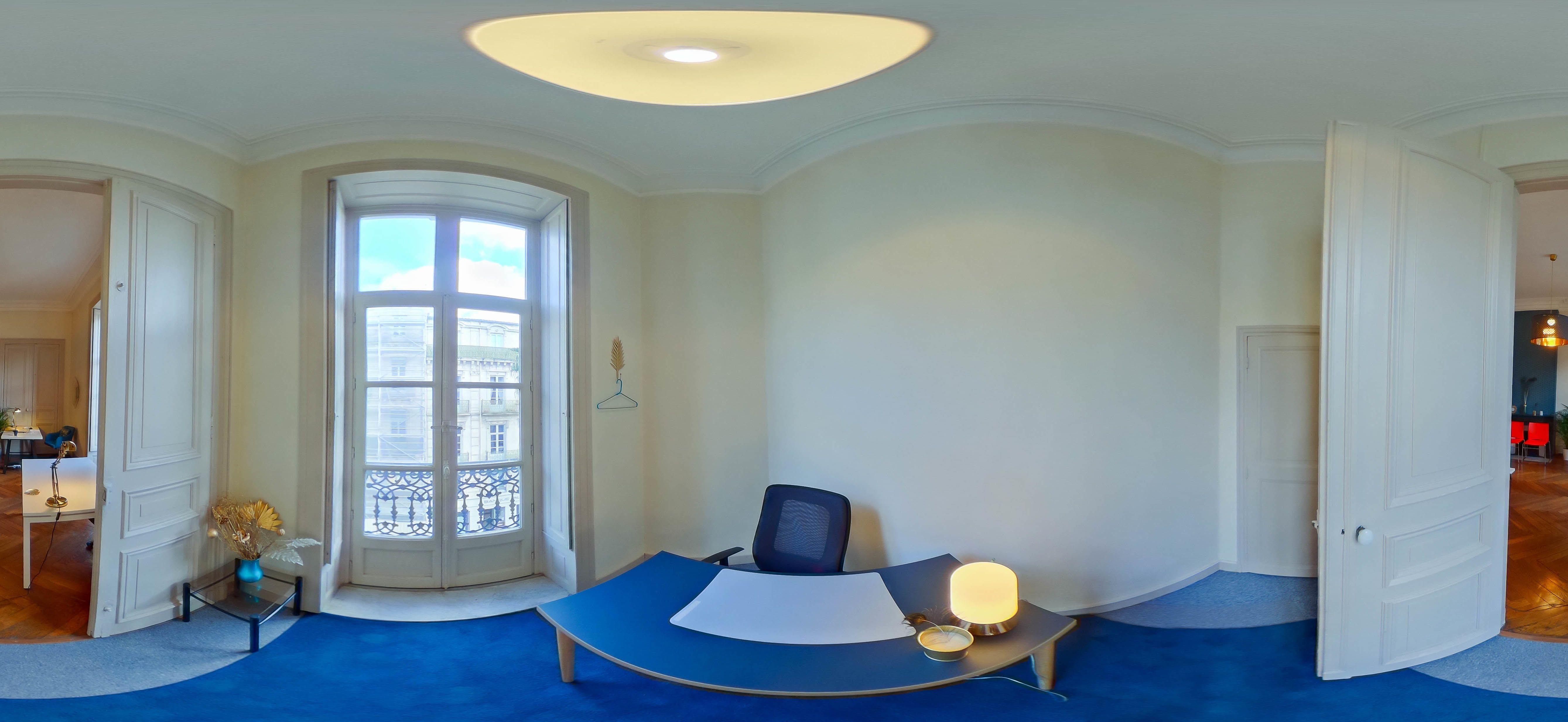 bureau privatif de 2 personnes à Montpellier