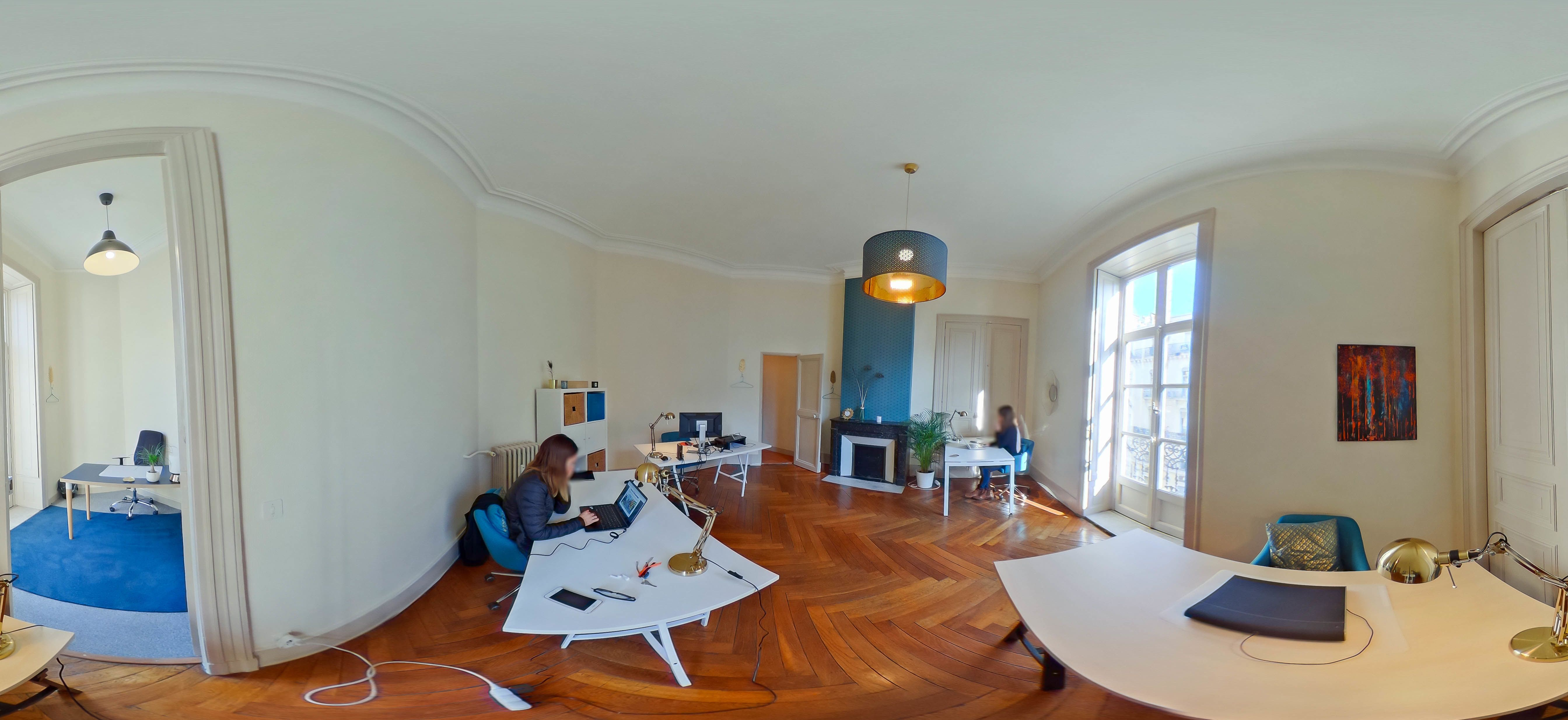 espace partagé d'une capacité de 5 personnes à Montpellier