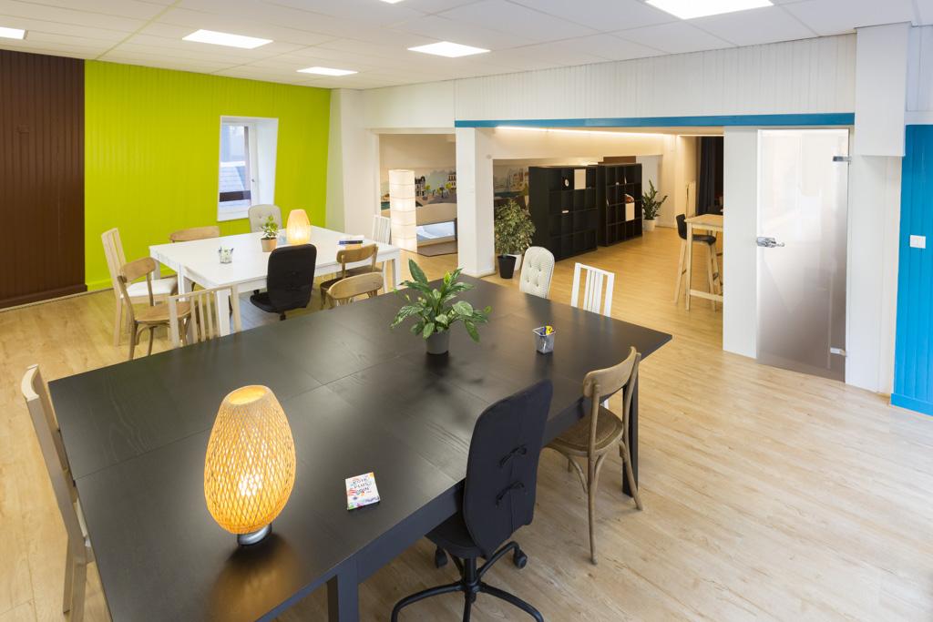 Bureau privatif salle de réunion ou espace partagé à rennes